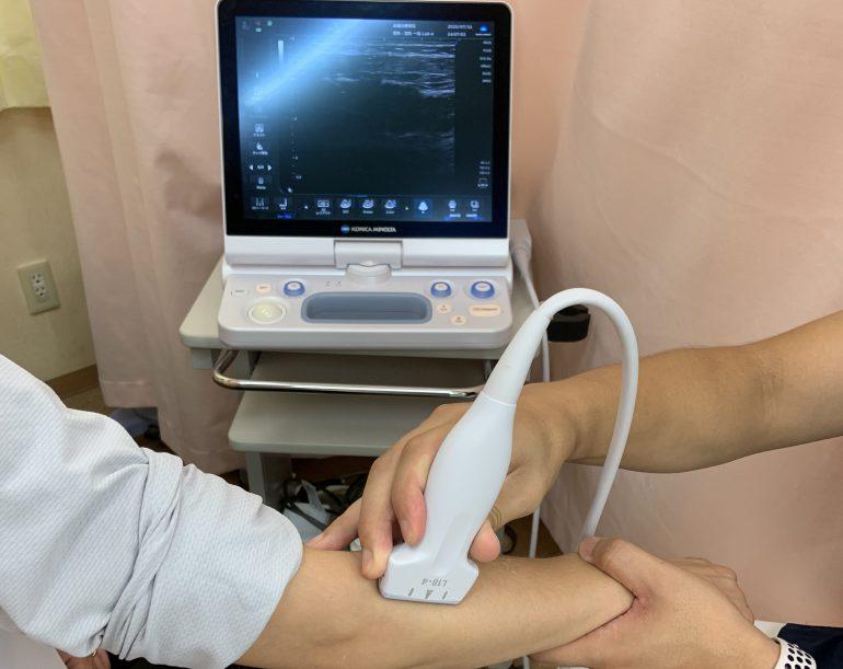 超音波画像診断装置(エコー)を完備|名古屋市の太陽の接骨院